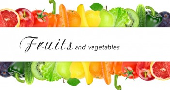 Surtido de Hortalizas, Frutas y Verduras Clasificadas por Colores