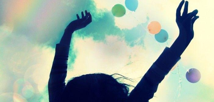 Se positivo, se feliz, busca el lado bueno de la vida