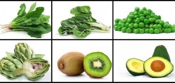 ¿Qué nos aportan las hortalizas, frutas y verduras de color verde?