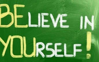 Creer en si mismo es necesario para lograr el Éxito