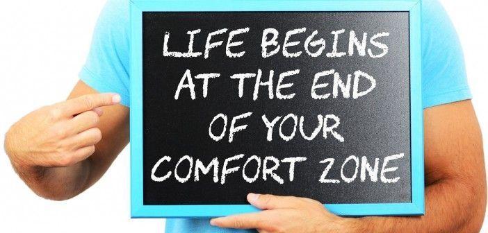 Todo comienza en el final de tu zona de confort
